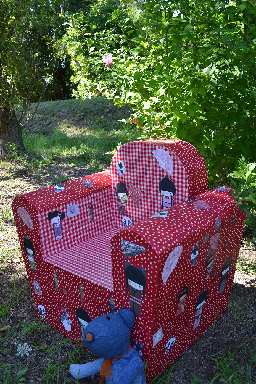 Fauteuil rouge enfant esprit recup 39 - Fauteuil rouge enfant ...