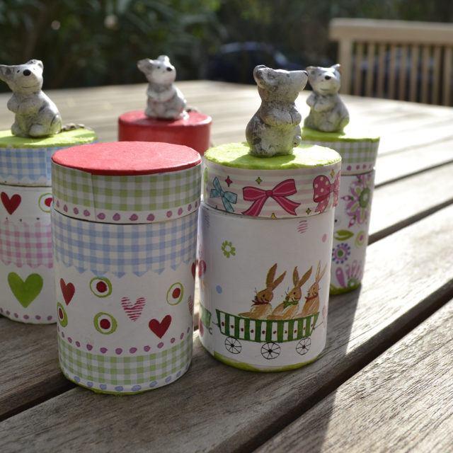 Boîte à dents pour enfants en carton - Meuble en carton - Esprit Recup'